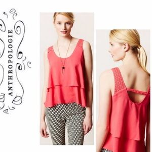 Anthropologie HD in Paris Tiered Blouse Tank